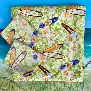 Dean Miller Hawaiian Prints-Twin Blanket w/2 Cases